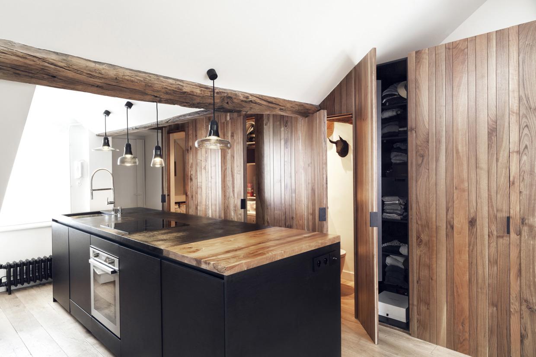 Verbazingwekkend Open keuken in een klein appartement | HOMEASE MH-84