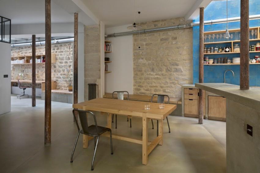 Wat Is Een Half Open Keuken : is een op maat gemaakt meubel geplaatst wat een combinatie is van een