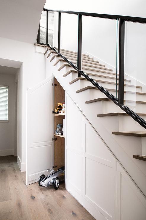 open trap dichtmaken met trapkast