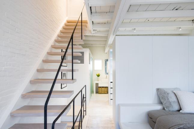 Mooie dubbele bovenwoning uit new york homease for Open trap renovatie