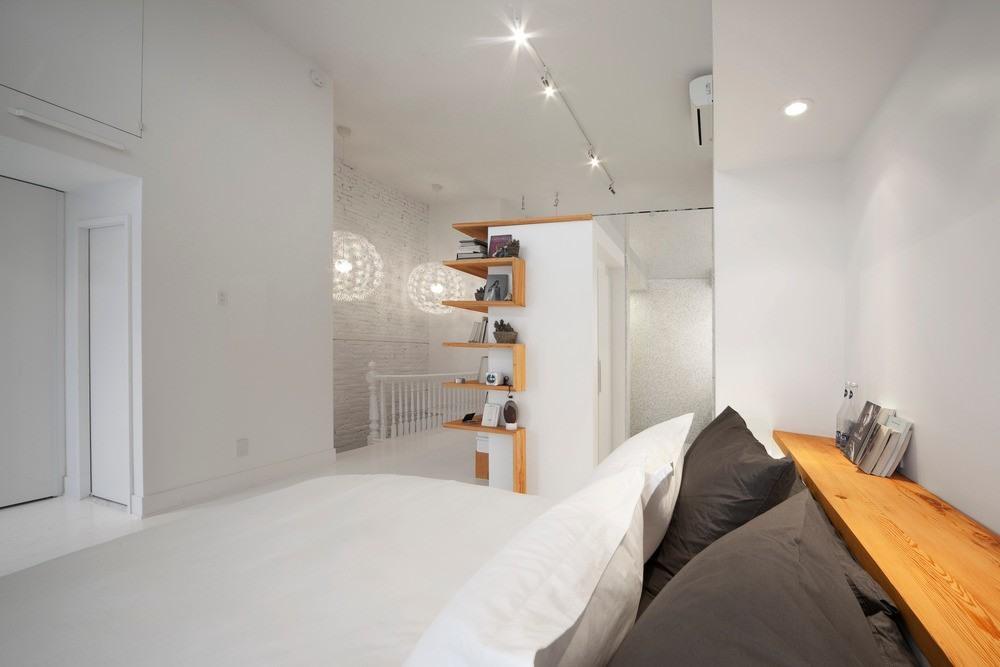 open witte zolder slaapkamer  homease, Meubels Ideeën