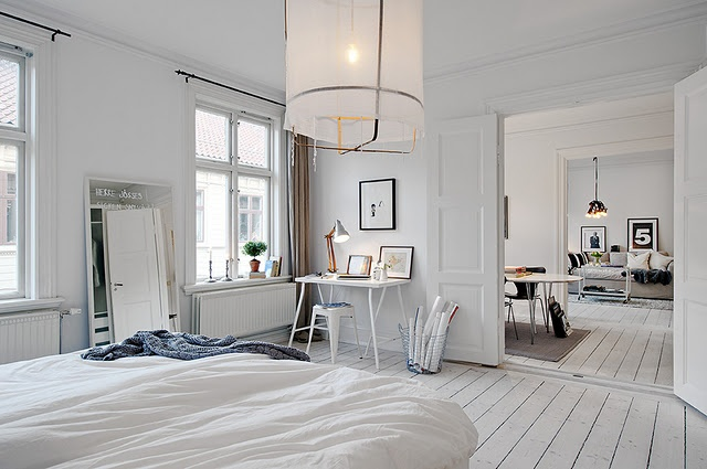 Deuren Voor Slaapkamer.Witte Dubbele Binnendeuren Homease