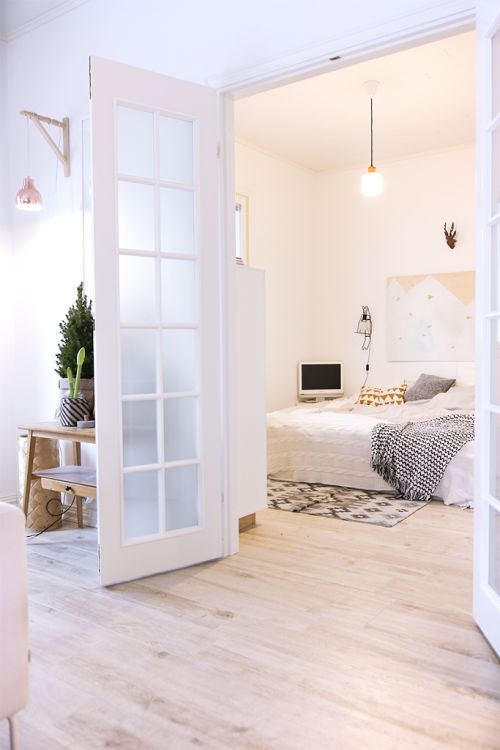 Openslaande deuren glas slaapkamer