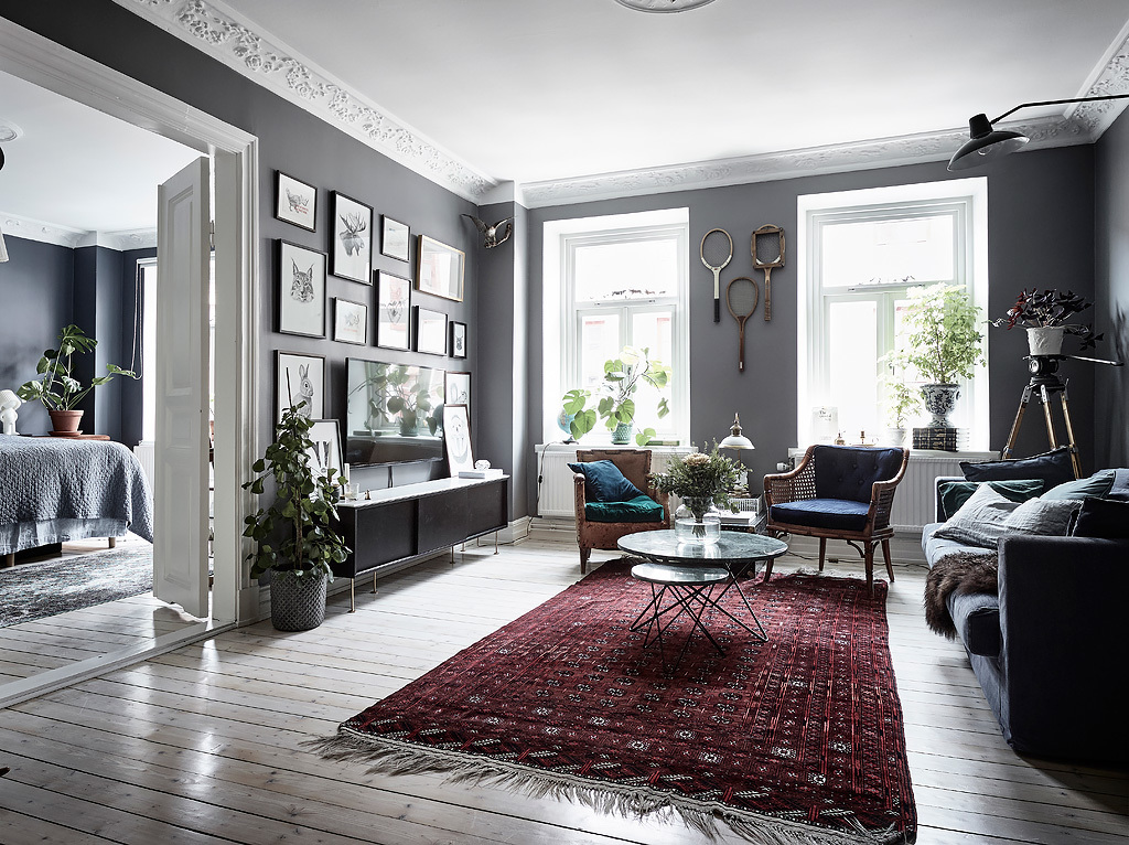Originele woonkamer inspiratie? Neem een kijkje in deze woonkamer ...