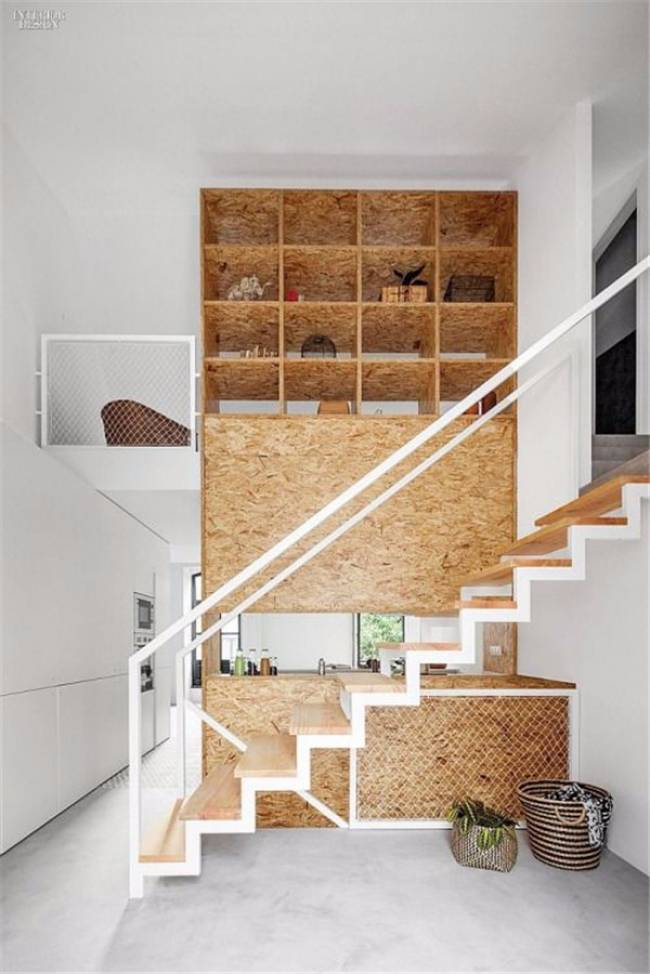 OSB in interieur kast