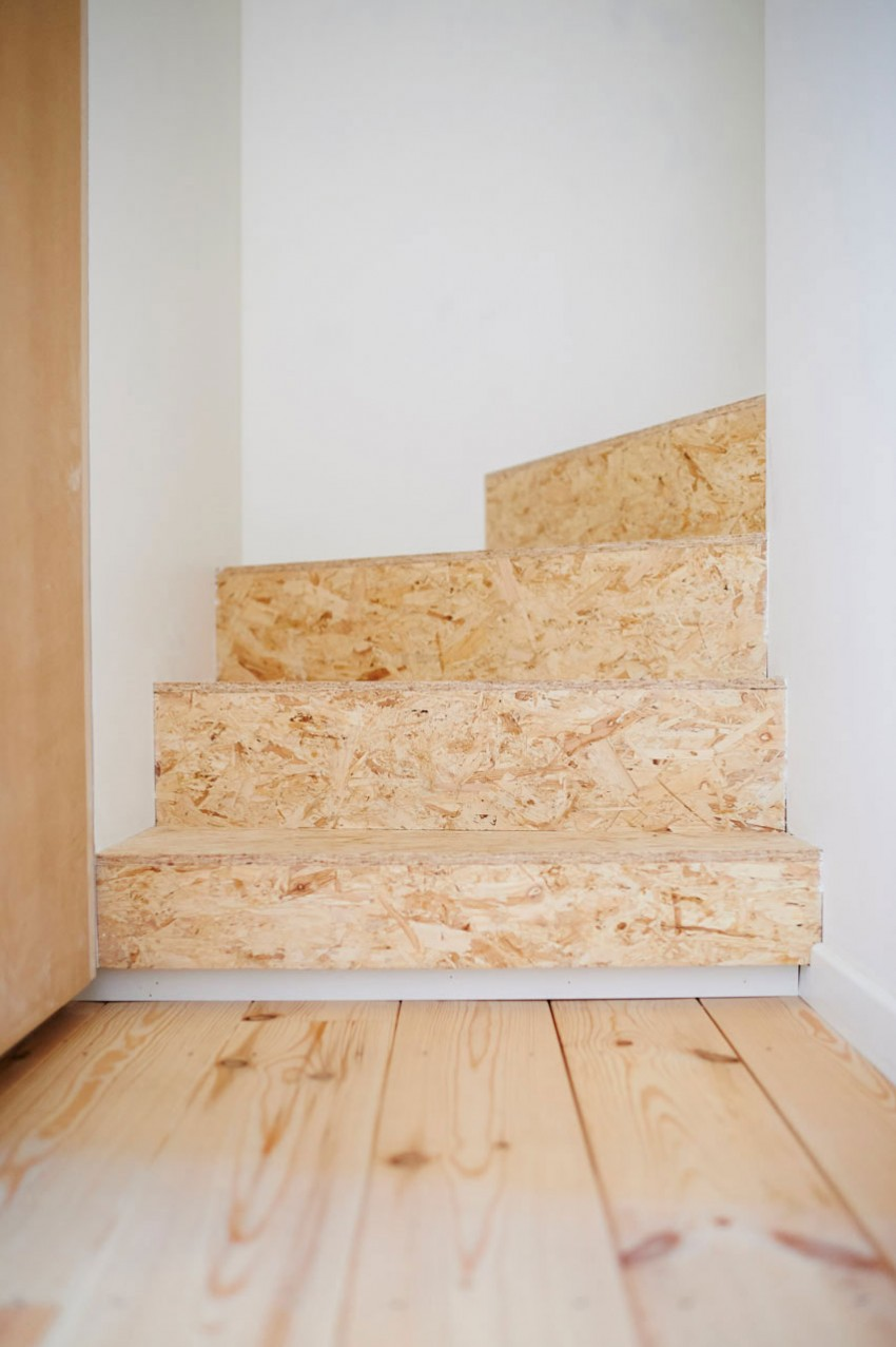 OSB in interieur trap