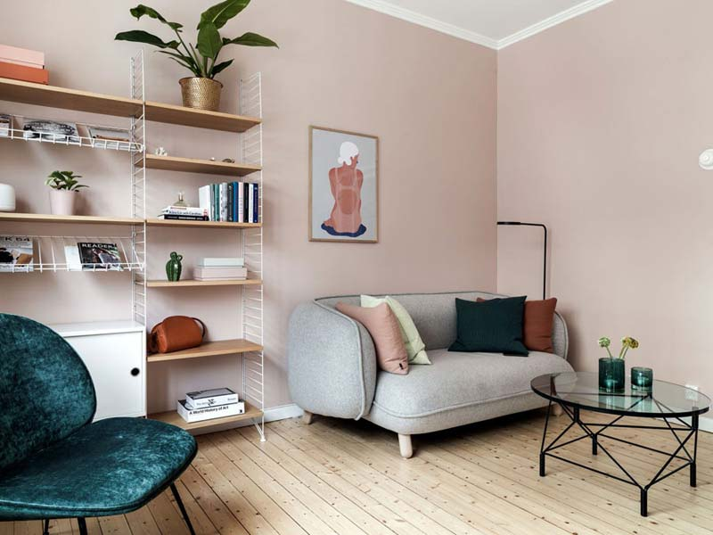 Oud roze muur Flexa - C2.06.68