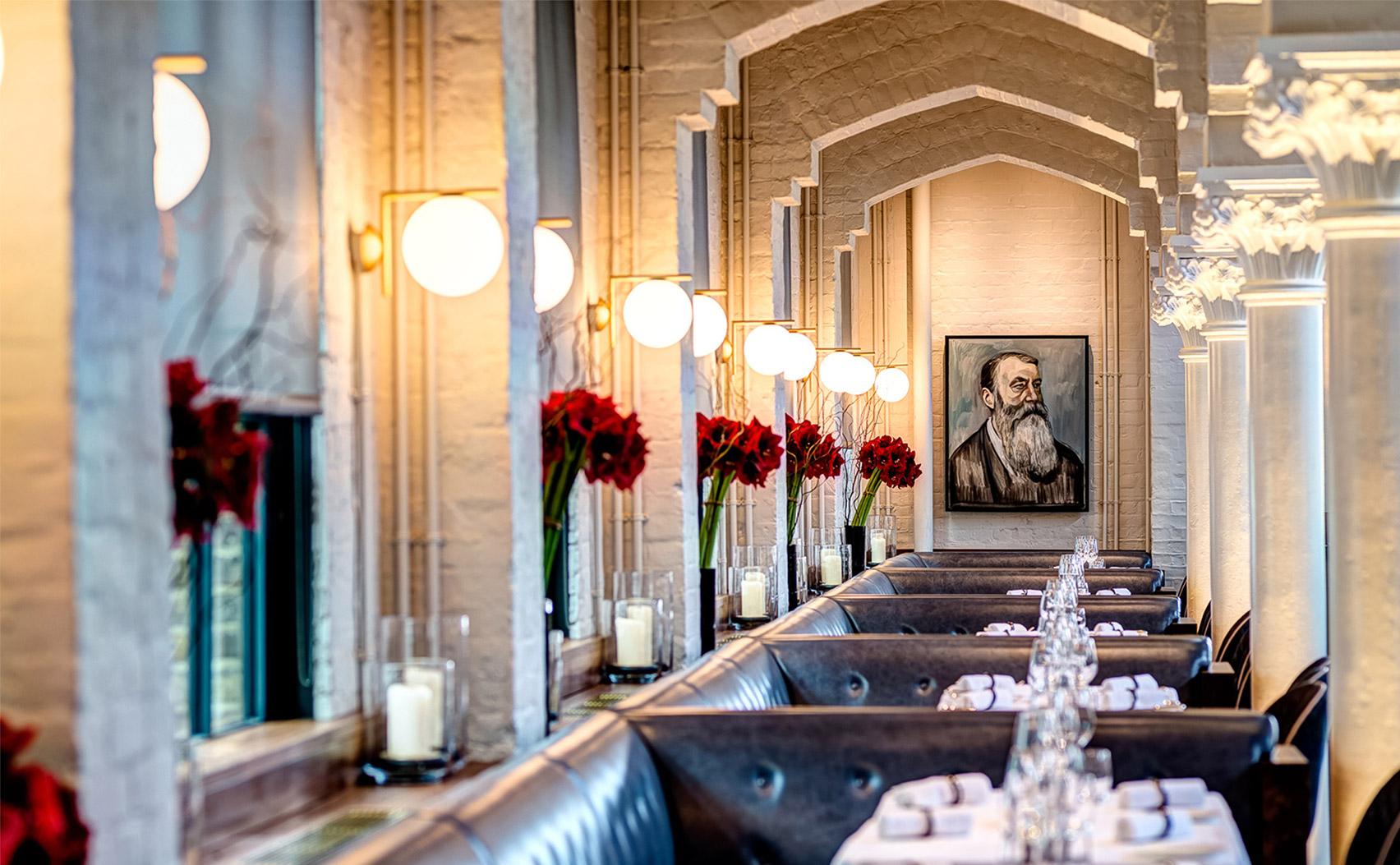Van oude gymzaal tot fancy restaurant: German Gymnasium