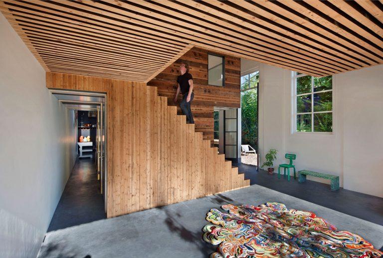 Van oude koetshuis tot moderne woning