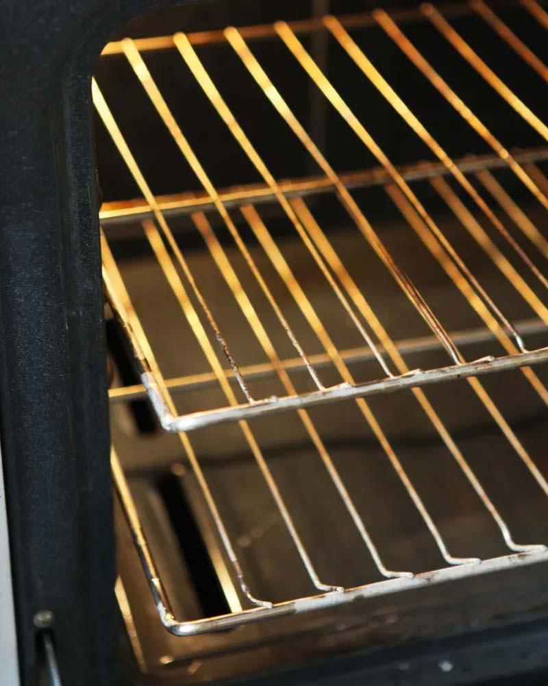 ovenrekken schoonmaken baking soda