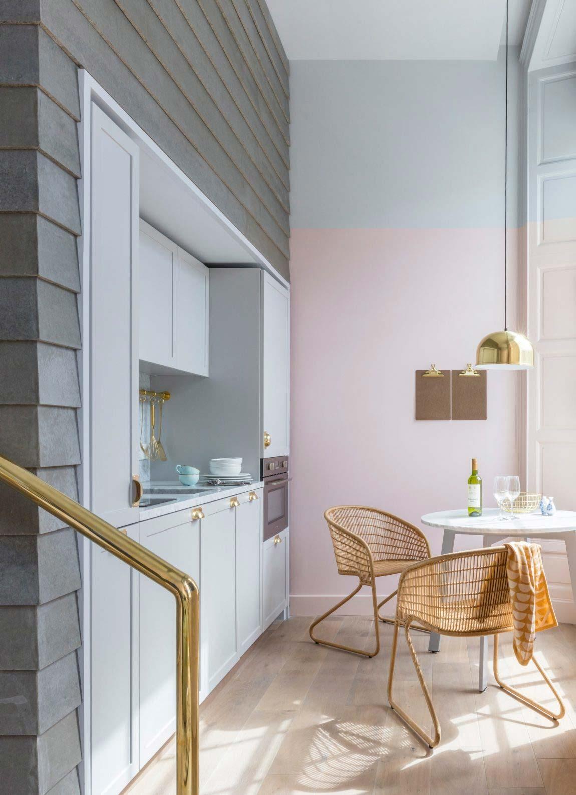 Als je liefhebber bent van pastelkleuren, dan moet je het Edin Locke hotel in Edinburgh bezoeken!