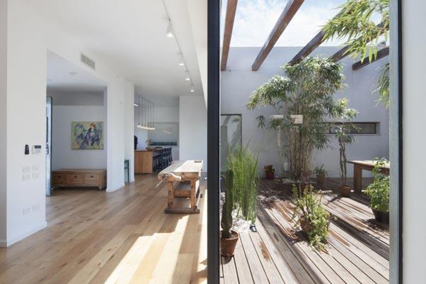 Patio tuin als middelpunt van het huis homease - Tuin interieur design ...