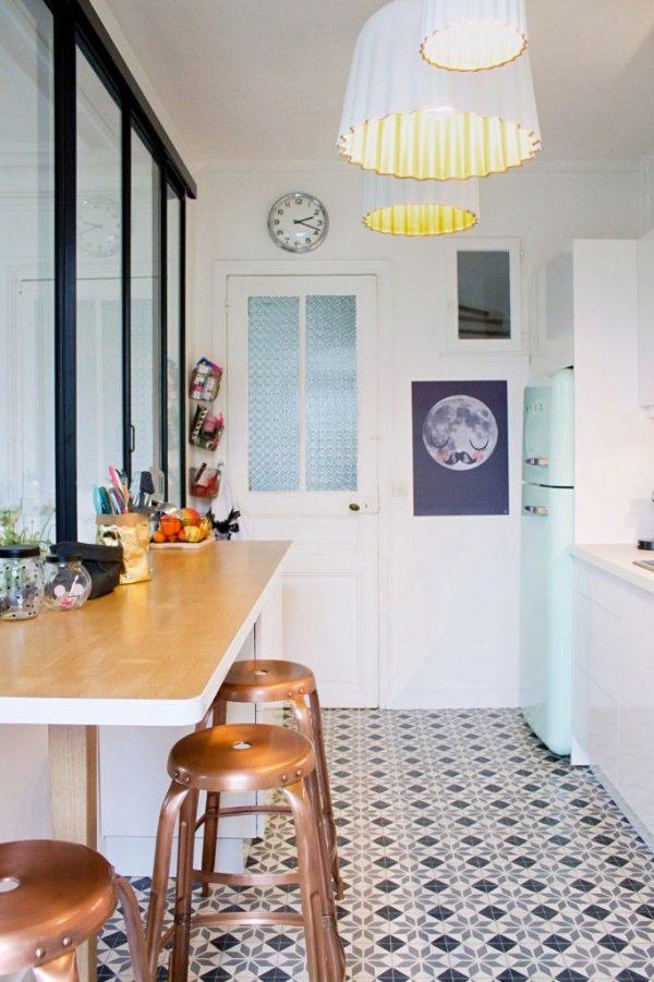patroontegels keuken