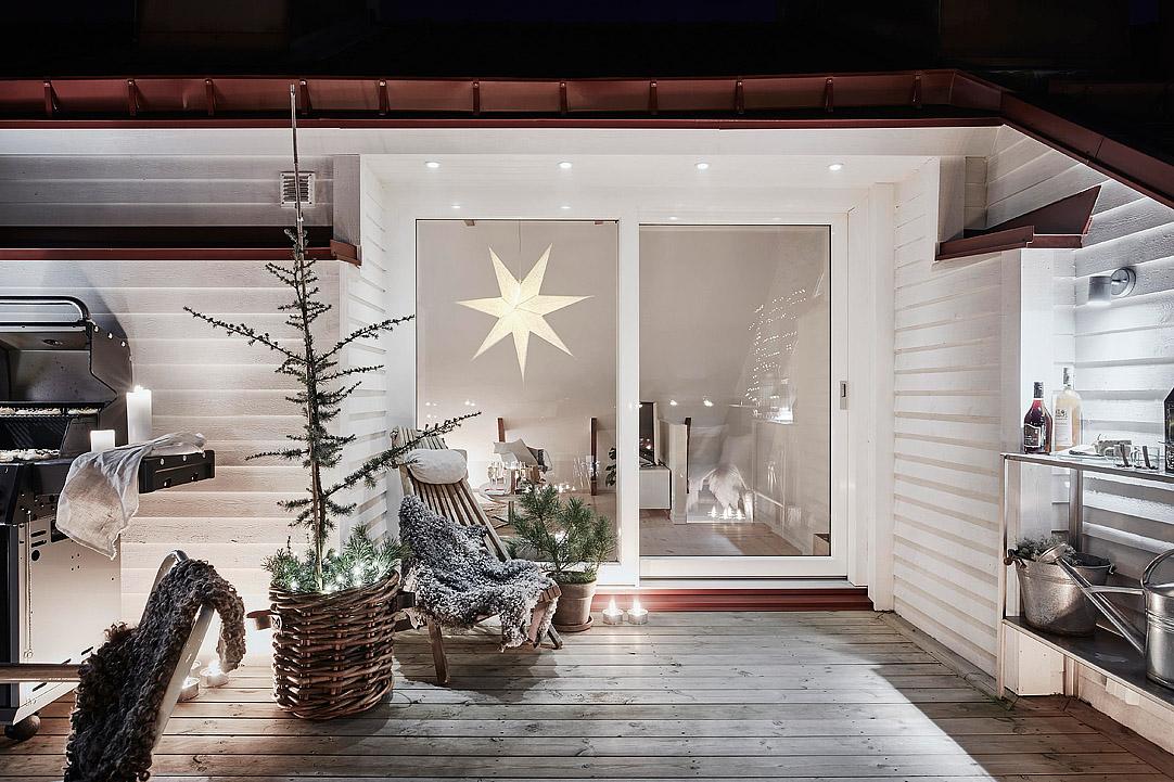 Het pérfecte winter dakterras met de ultieme kerstsfeer homease