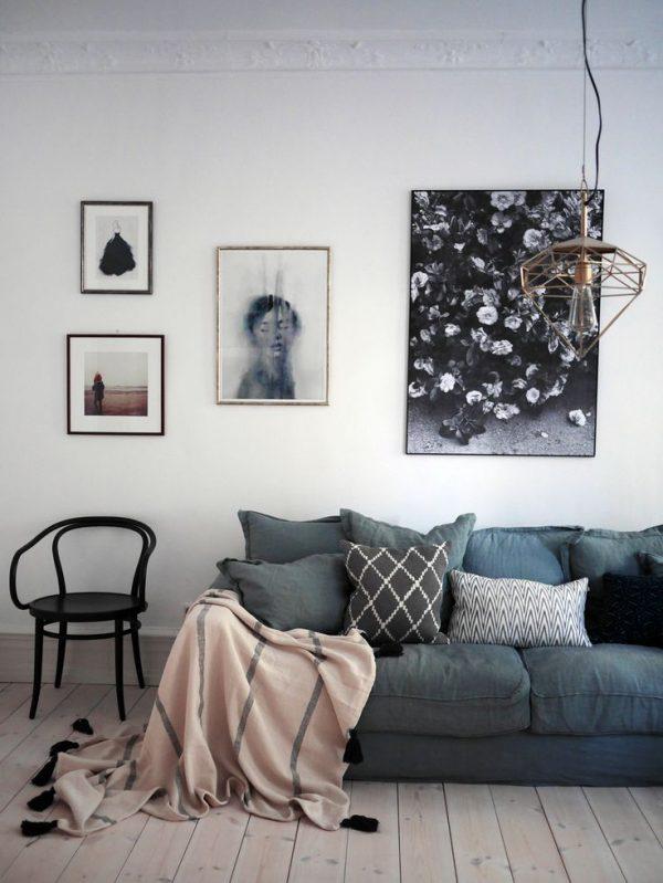 Plafondlijsten woonkamer