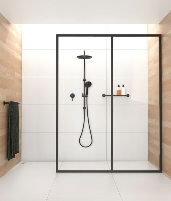 Plankje in de douche