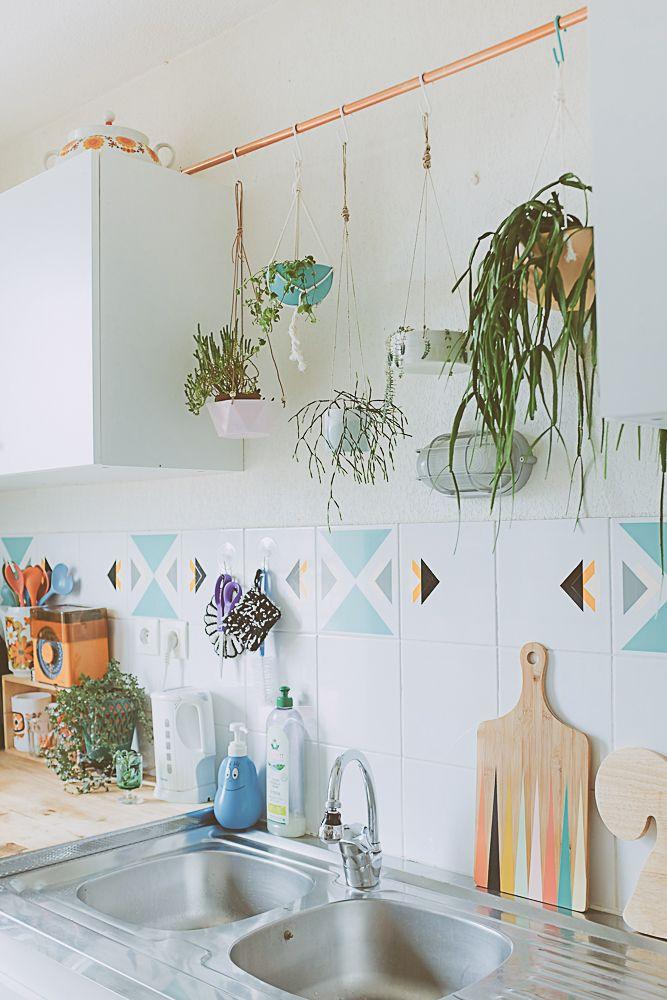 Planten hang je op homease for Hangdecoratie raam