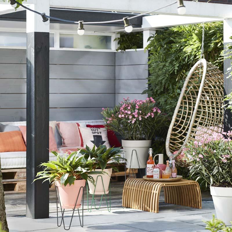 Plantenstandaard Elho Loft Urban Frame