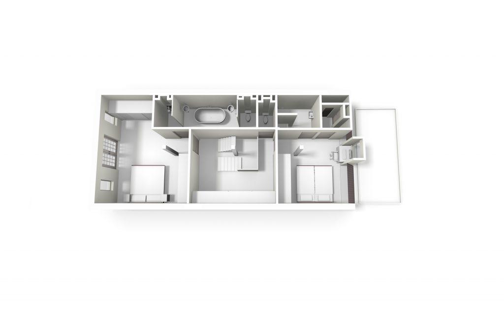 plattegrond-loft-appartement-amsterdam