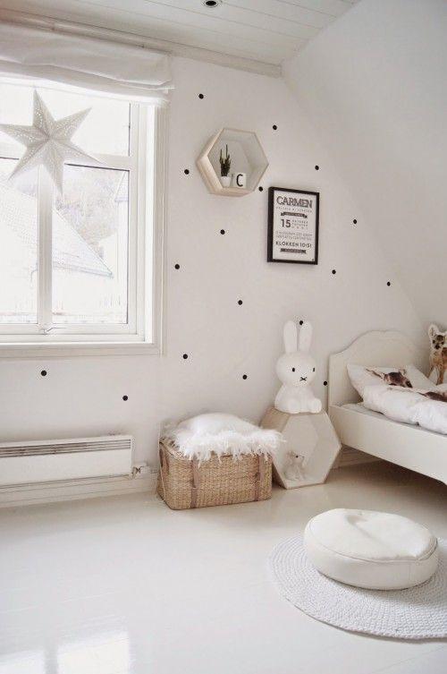 Polka dots muur