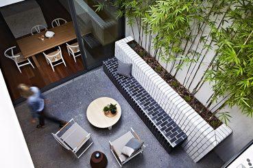 Praktische binnentuin