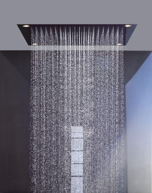 Een regendouche: de voor- en nadelen