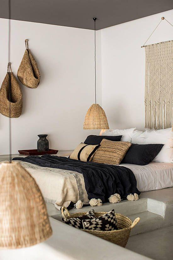 rieten-hanglamp-slaapkamer-hoek