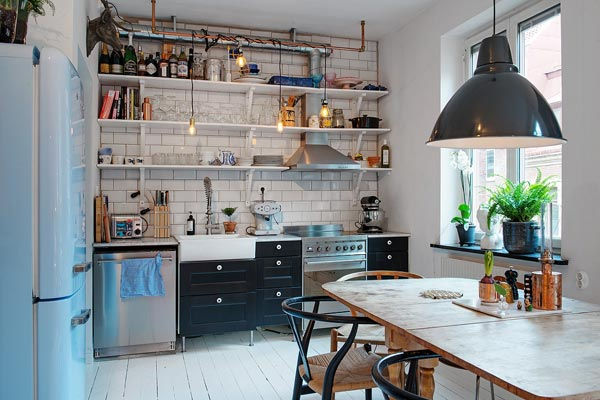 Rommelige vintage keuken homease for W architecture toulouse