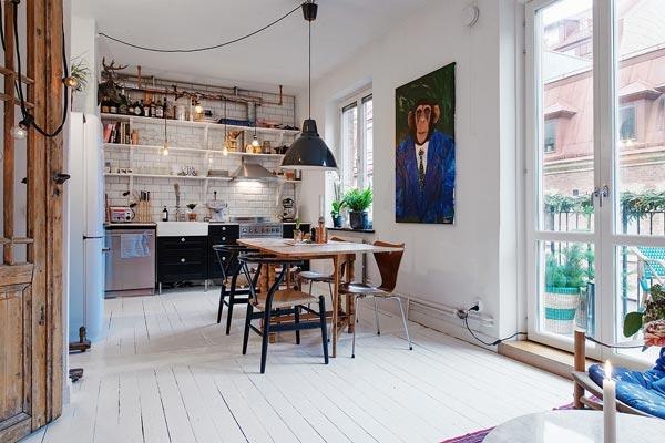 Rommelige vintage keuken | HOMEASE