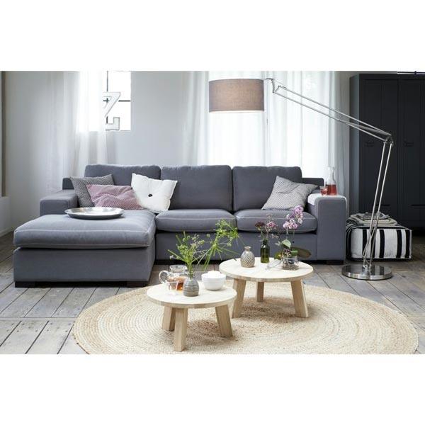 Ook Karwei heeft prachtige ronde salontafels van hout!