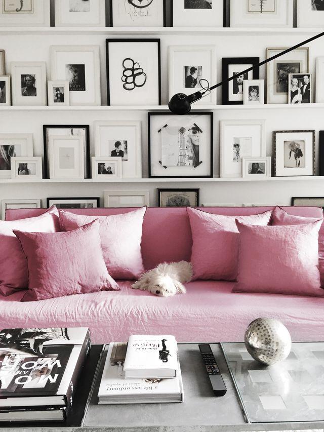 Roze interieur inspiratie