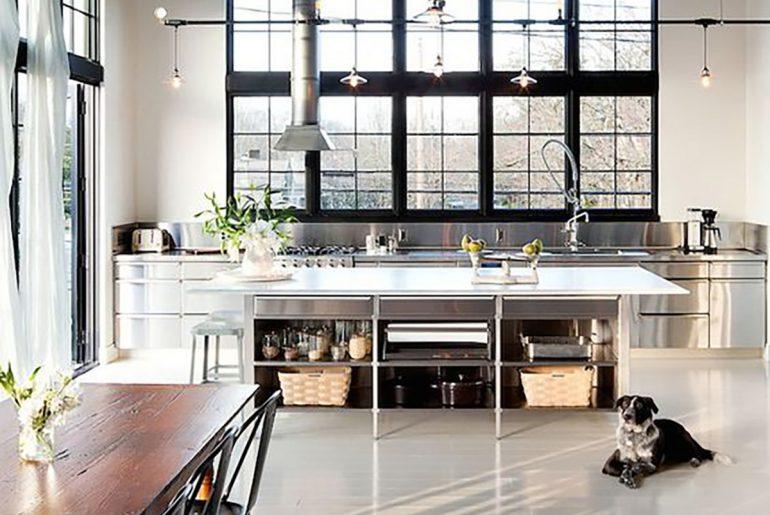 rvs-keuken