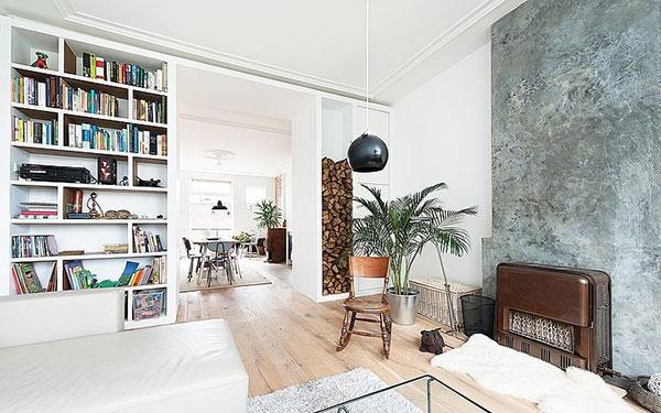Scandinavische woonkamer in Den Haag