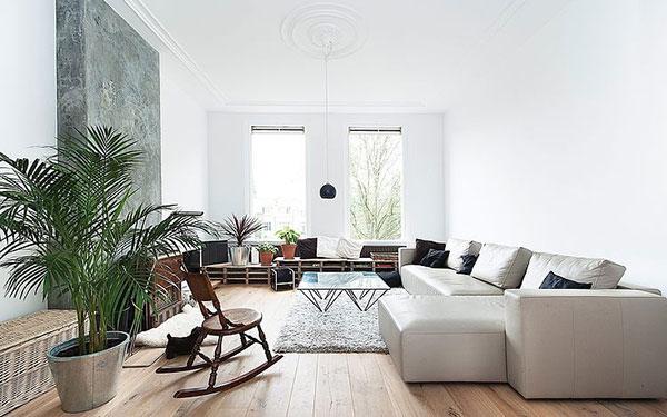 Scandinavische woonkamer in den haag homease for Interieur den haag