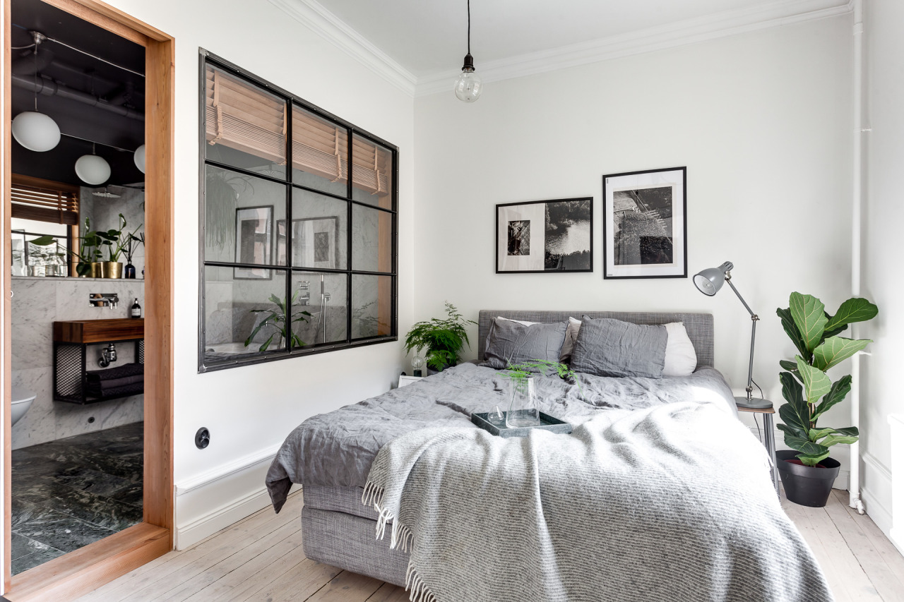 Scandinavisch Appartement Inspiratie : Dit scandinavisch appartement is anders maar wel super stoer