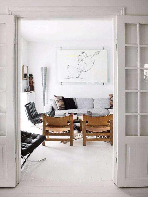 Scandinavisch huis van meubelmakers stel Björk en Birgir