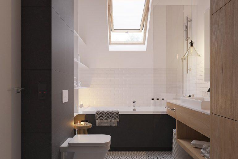 Scandinavisch Interieur Sydney : Scandinavisch modern badkamerontwerp homease