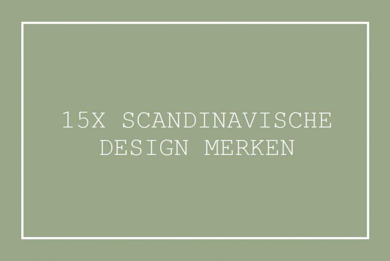 scandinavische design merken