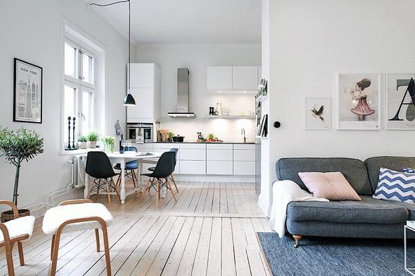 Zwevende Open Keuken : Open keuken homease
