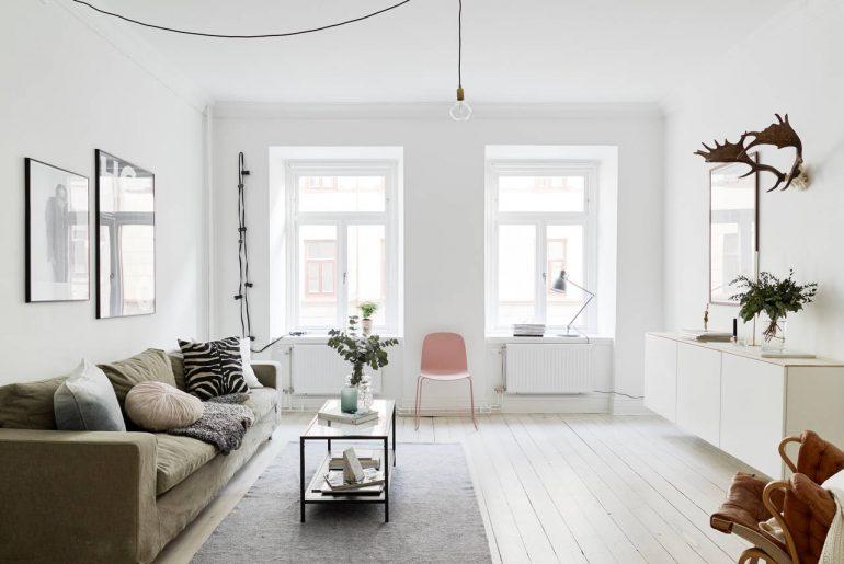 Home » Industrieel interieur » Scandinavische woonkamer styling