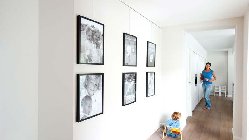 Schilderij ophangrails