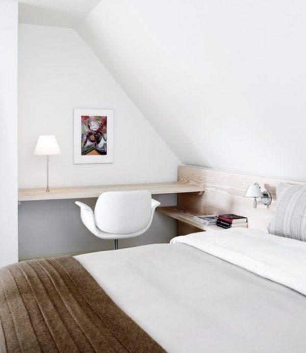 Serene Deense slaapkamer