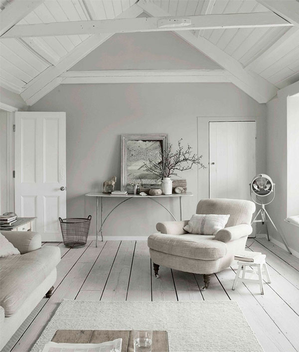 ... sfeer. net als in de woonkamer veel wit en verschillende grijstinten