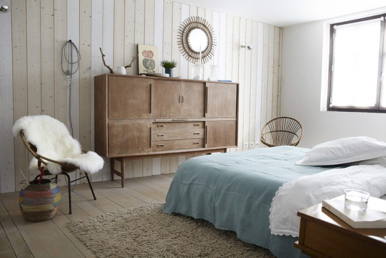 Sfeervolle slaapkamer van Fanny & Pascal