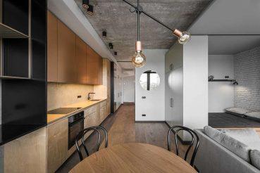 Shop the look van dit stoere mini loft appartement van 43m2