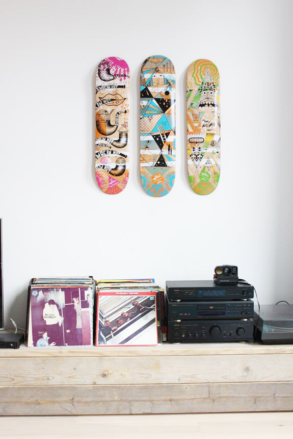 skateboard-decks-muur