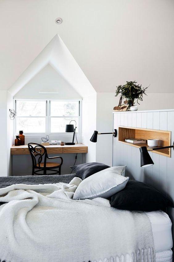 slaapkamer dakkapel ideeën