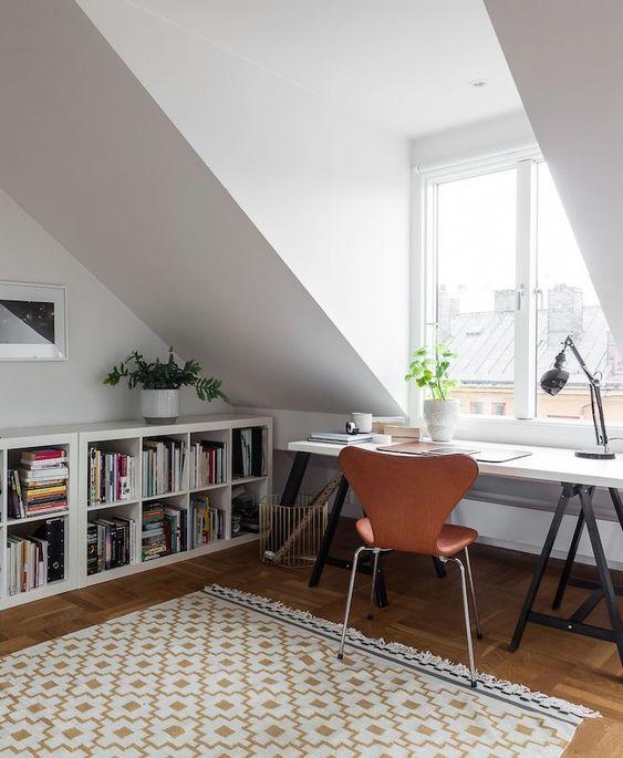 slaapkamer dakkapel werkplek