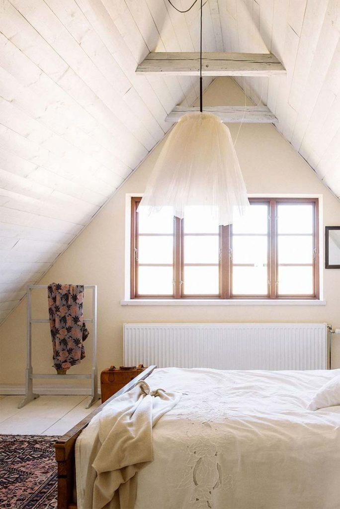slaapkamer decoratie ideeën cocoon - mooie slaapkamer op zolder