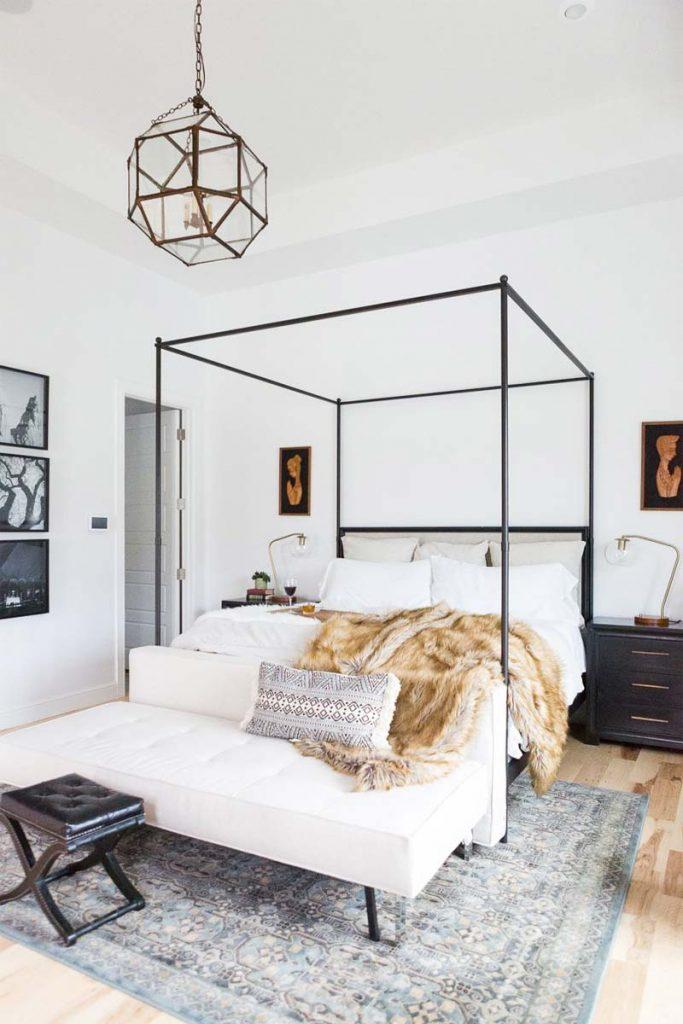 slaapkamer decoratie ideeën hemelbed